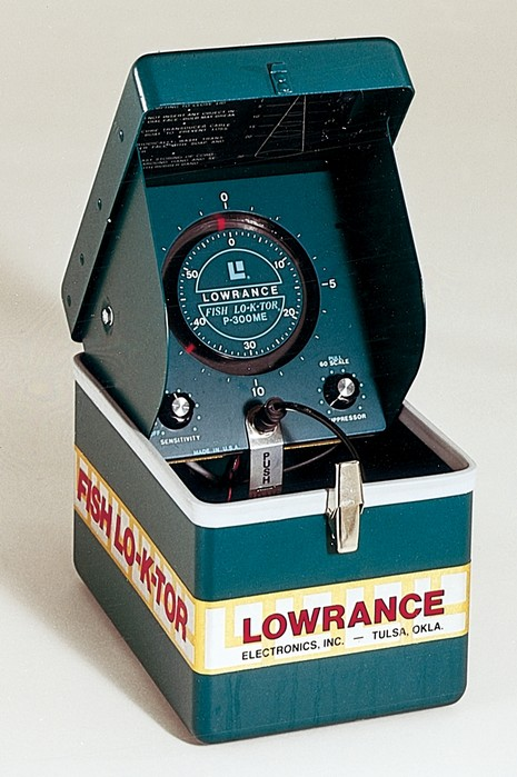 Lowrance Small Green Box